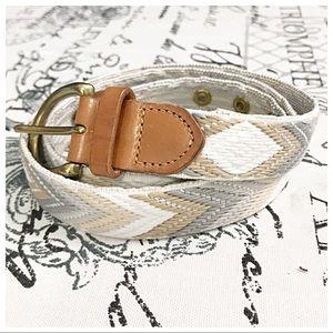 J. Crew Medium Embroidered Belt